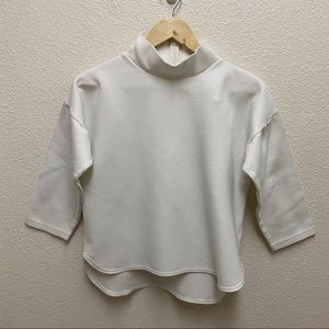 Madewell Painters Mock Neck Top